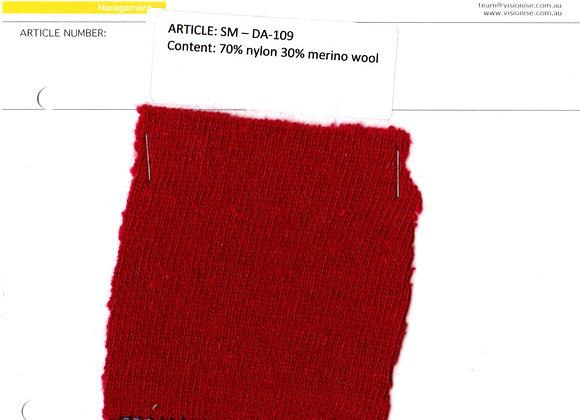70% nylon 30% merino wool