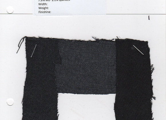 50.1% Cotton 21.5% Refibra 18.4% T 7.9% MD  2.1% Spandex