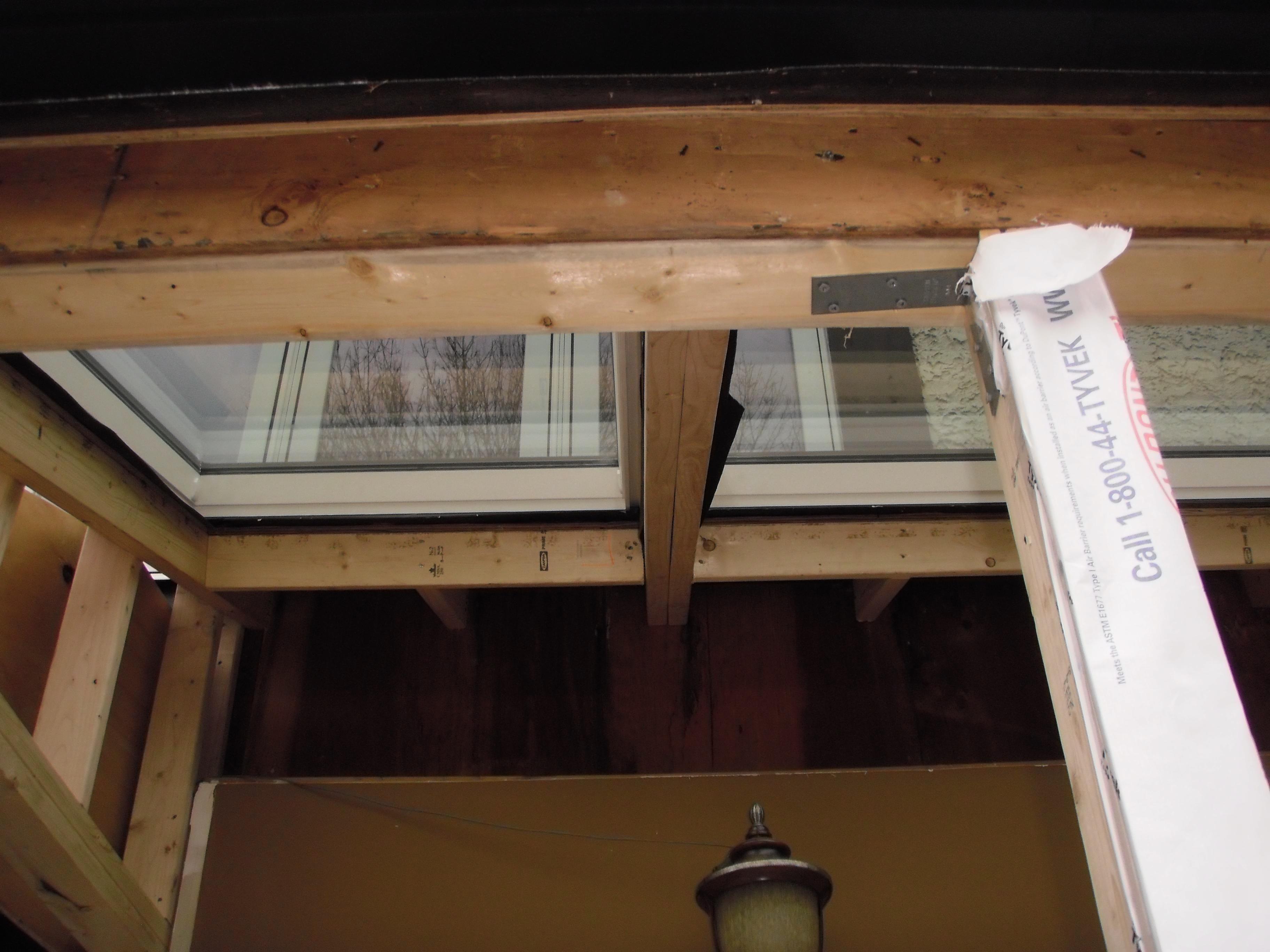 Adding skylight
