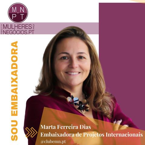 Embaixadora Projetos Internacionais, Pt