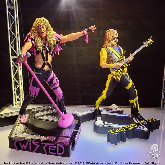 TWISTED SISTER ROCK ICONZ STATUE COMBO
