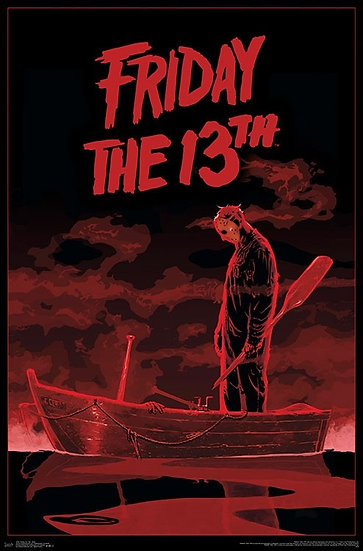 FRIDAY THE 13TH - JASON VOORHEES BOAT POSTER