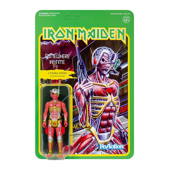 IRON MAIDEN ReACTION FIGURE -SOMEWHERE IN TIME