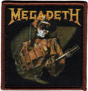 MEGADETH SO WHAT SOLDIER PATCH