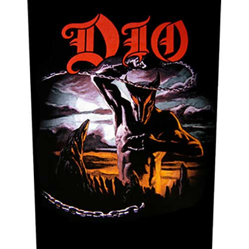 DIO BACK PATCH HOLY DIVER