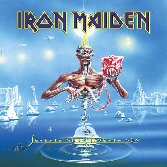 IRON MAIDEN - SEVENTH SON OF A SEVENTH SON 100GM VINYL LP