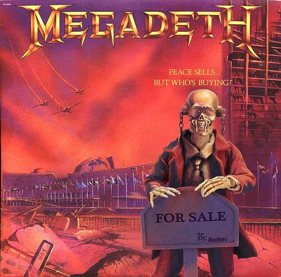 MEGADETH - VIC RATTLEHEAD CLOTHED FIGURE