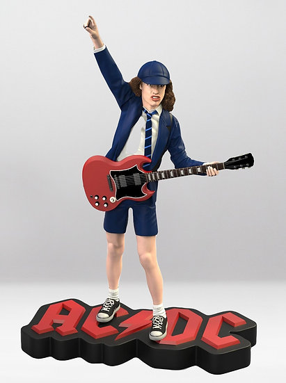 THE ANGUS YOUNG (AC/DC) ROCK ICONZ STATUE