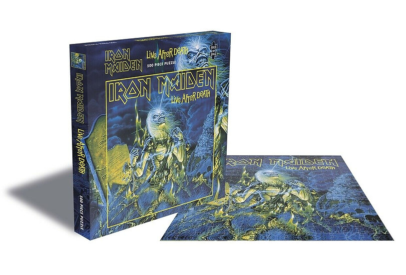 IRON MAIDEN LIVE AFTER DEATH PUZZLE