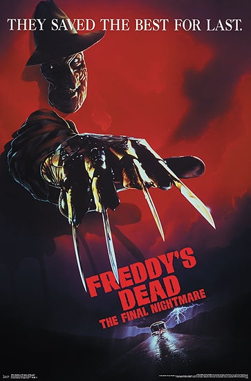 A NIGHTMARE ON ELM STREET - FREDDY'S DEAD POSTER
