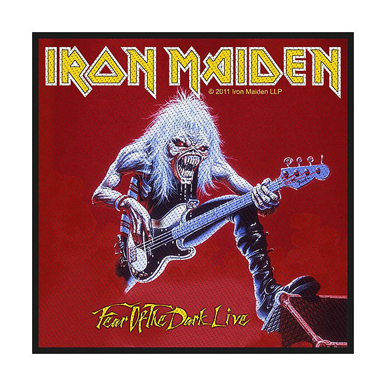 IRON MAIDEN BACK PATCH - FEAR OF THE DARK