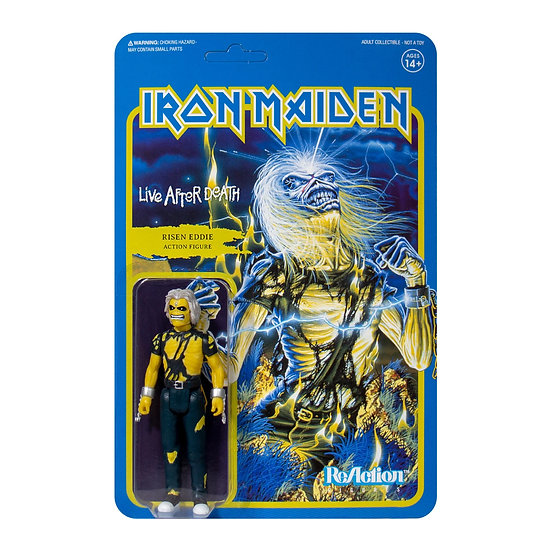 IRON MAIDEN ReACTION FIGURE - LIVE AFTER DEATH
