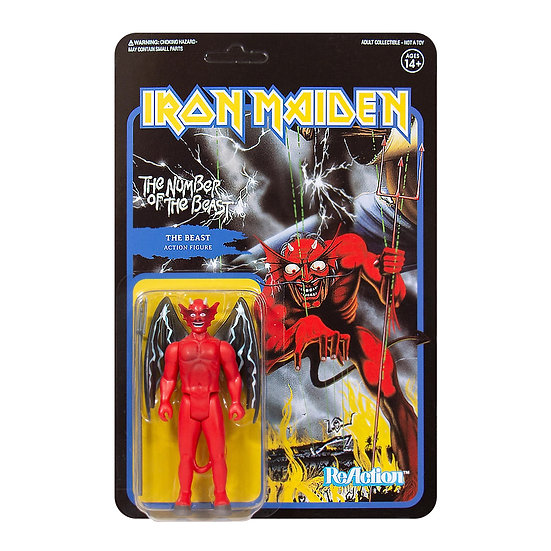 IRON MAIDEN ReACTION FIGURE - NUMBER OF THE BEAST