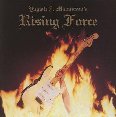 YNGWIE MALMSTEEN - RISING FORCE GOLD COLORED VINYL LP