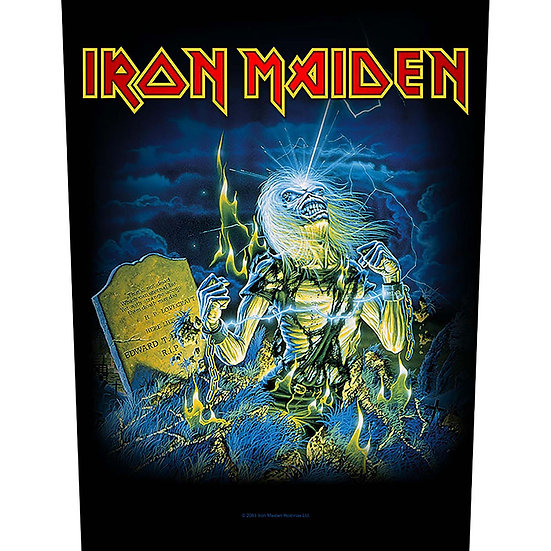 IRON MAIDEN BACK PATCH LIVE AFTER DEATH