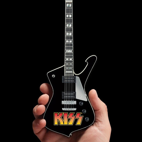 OFFICIALLY LICENSED KISS SET OF 3 MINI GUITARS