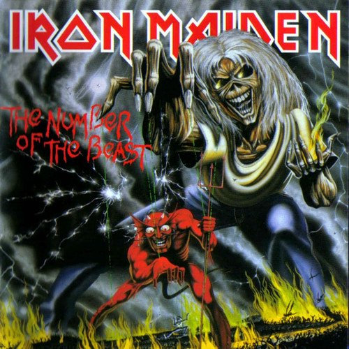 IRON MAIDEN - NUMBER OF THE BEAST 180GM VINYL LP