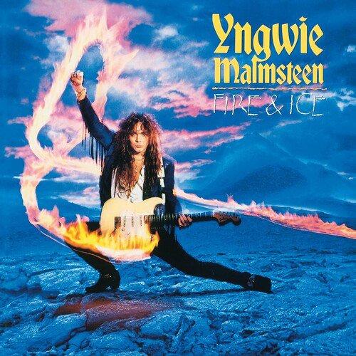 YNGWIE MALMSTEEN - FIRE & ICE COLORED VINYL 2 LP