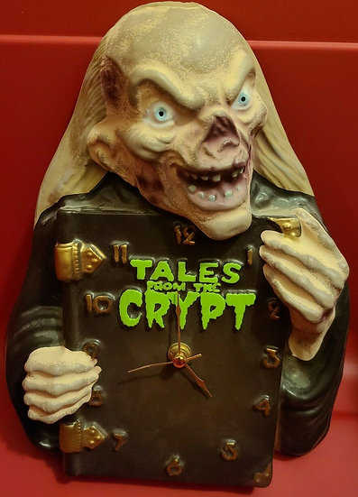 TALES FROM THE CRYPT CLOCK 90'S CRYPTKEEPER