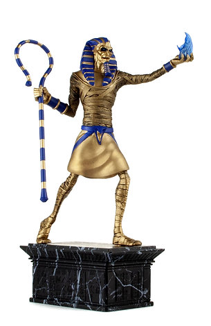IRON MAIDEN- LEGACY OF THE BEAST PHARAOH STATUE