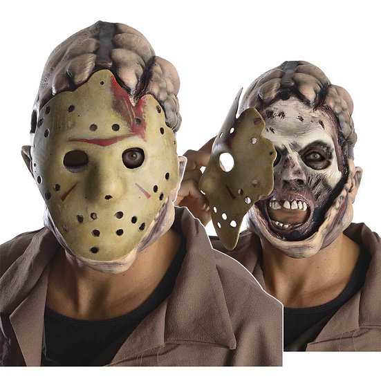 FRIDAY THE 13TH  ADULT DOUBLE MASK