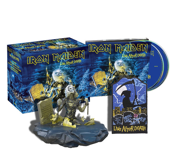 IRON MAIDEN LIVE AFTER DEATH 2 CD COLLECTOR SET