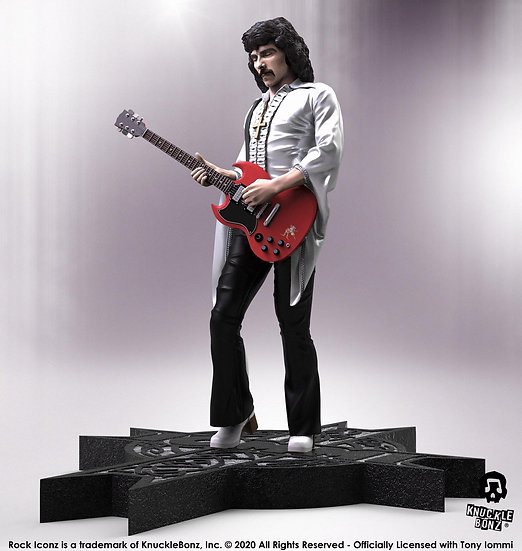 TONY IOMMI BLACK SABBATH ROCK ICONZ STATUE