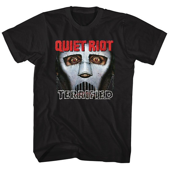 QUIET RIOT - TERRIFIED ADULT T-SHIRT