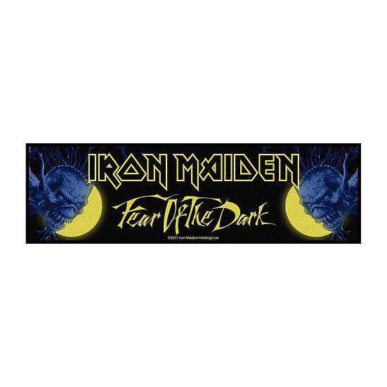 IRON MAIDEN STRIP PATCH - FEAR OF THE DARK