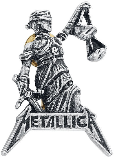 METALLICA - JUSTICE FOR ALL PIN