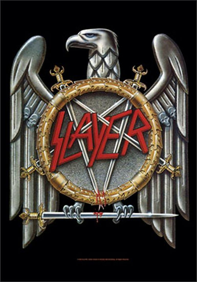 SLAYER FABRIC POSTER