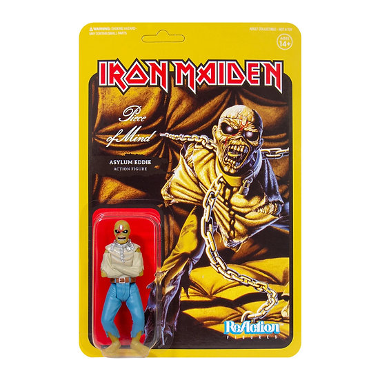 IRON MAIDEN ReACTION FIGURE - PIECE OF MIND