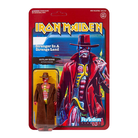 IRON MAIDEN ReACTION FIGURE - STRANGER IN A STRANGE LAND