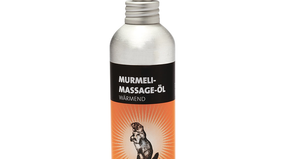 """Murmeli"" Massage Öl"