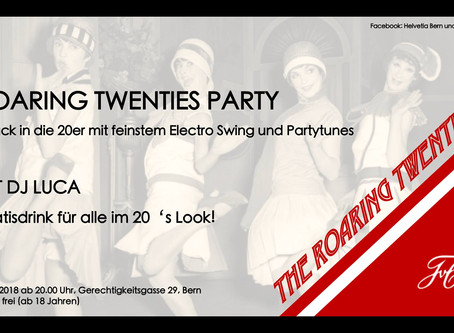 Roaring Twenties Party der Helvetia zu Bern