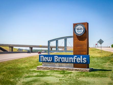 New Braunfels Sign