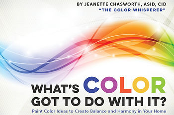 The Color Whisperer - Home Remodels, Color consultant book