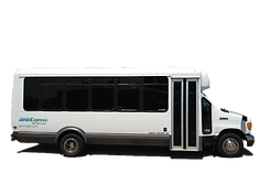 This 24 passenger mini-bus is perfect for groups of any size.  This bus is great for education trips and athletic teams.