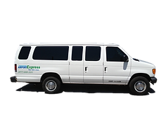 Let us shuttle your guests to and from local events in this 14 passenger executive van.  Along with other vehicles from our fleet we can accommodate groups of any size.
