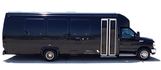 This 24 passenger luxury bus is perfect for formal events.  Treat your guests to the best ride with Smarter Charter