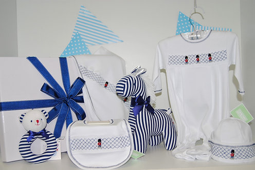 Baby boy smocked guard collection
