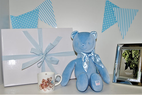 Baby Boy Bear Keepsake