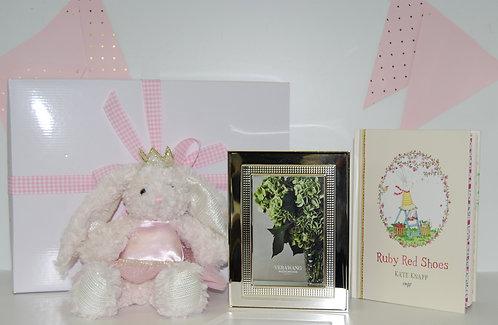 Baby Girl Bunny Keepsake