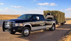 Texas Hay Company Truck