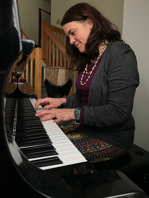 Jennifer Drees, music therapist for Main Street Music