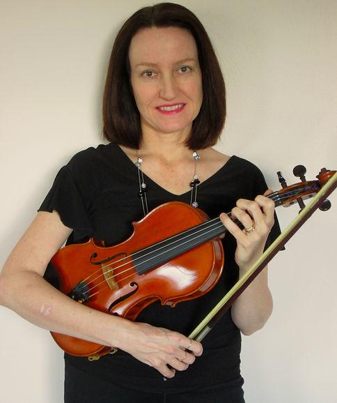 Patty Piccone, violin teacher for Main Street Music