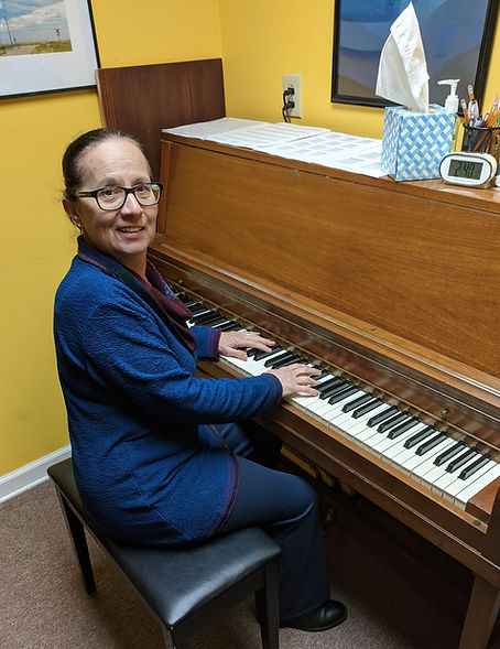 Marcia Yurko, piano teacher for Main Street Music