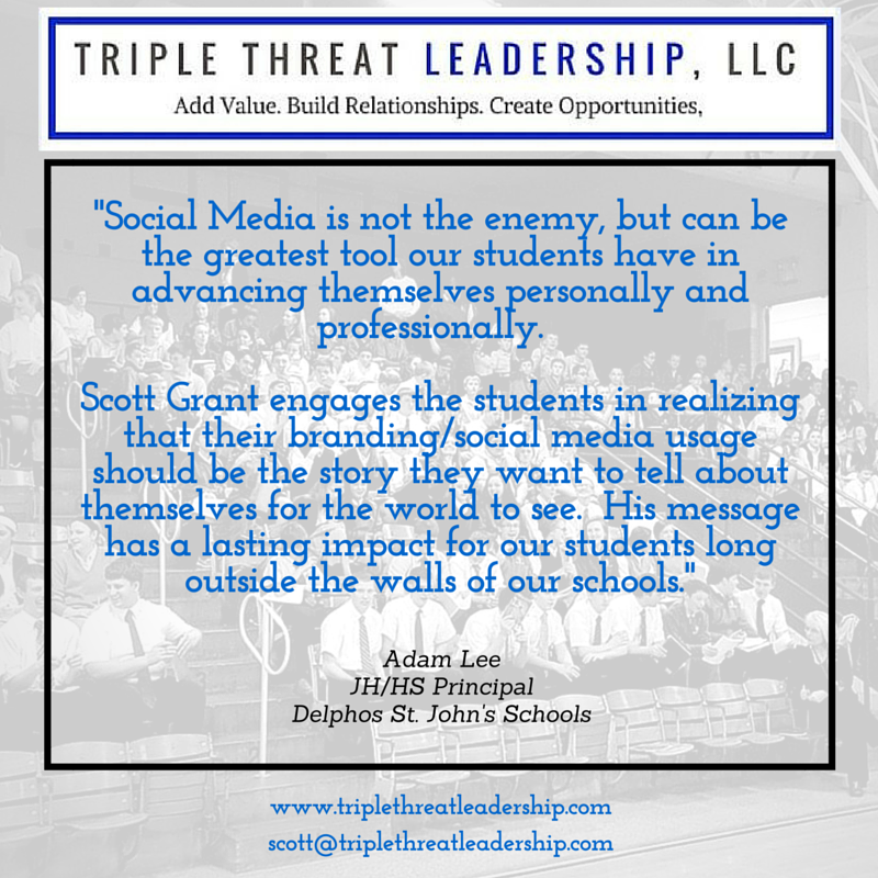 Triple Threat Leadership Testimonial