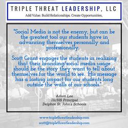 Triple Threat Leadership Testimonial