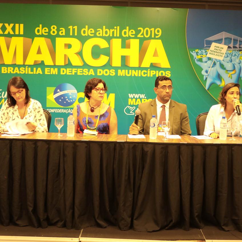 Plataforma Mais Brasil na Marcha
